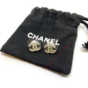 CHANEL Mini Classic CC Interlocking Rhinestone